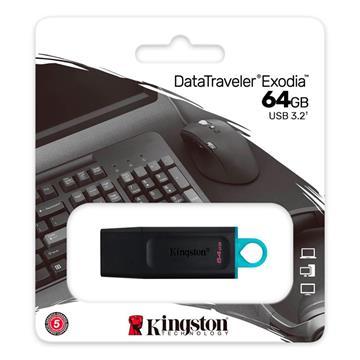 Kingston DTX Exodia PEN DRIVE 64GB USB 3.2