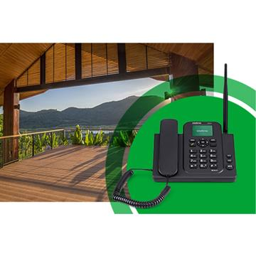 Telefone Rural Chip 3g Tenha Internet Sinal Wi-fi Intelbras