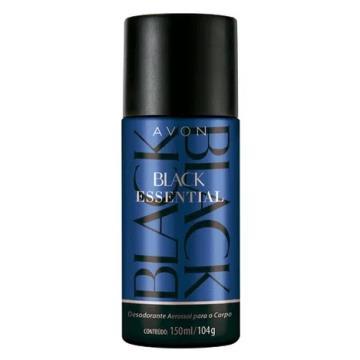 Black Essential Desodorante Aerossol 150ml
