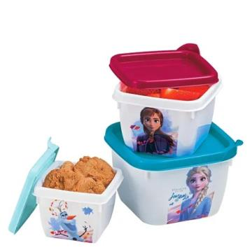Kit 3 Potes Conect Frozen