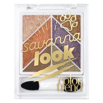 Color Trend Savanna Look Paleta de Sombras
