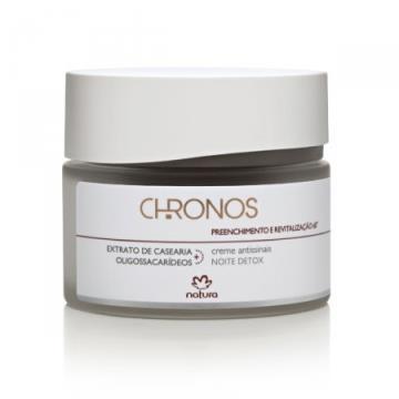 Creme Chronos Antissinais Noite Preenchimento e Revitalização 60+