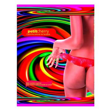 Calcinha Solúvel de Fantasia Neon Uva
