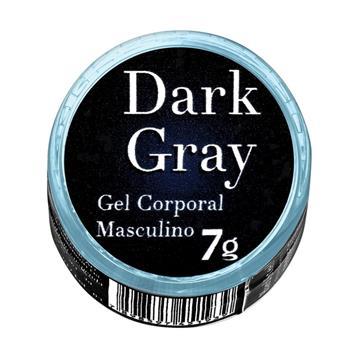 Dark Gray Gel Corporal Masculino 7g