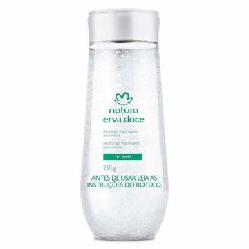 Natura Erva Doce Álcool Gel Higienizador para Mãos 250g