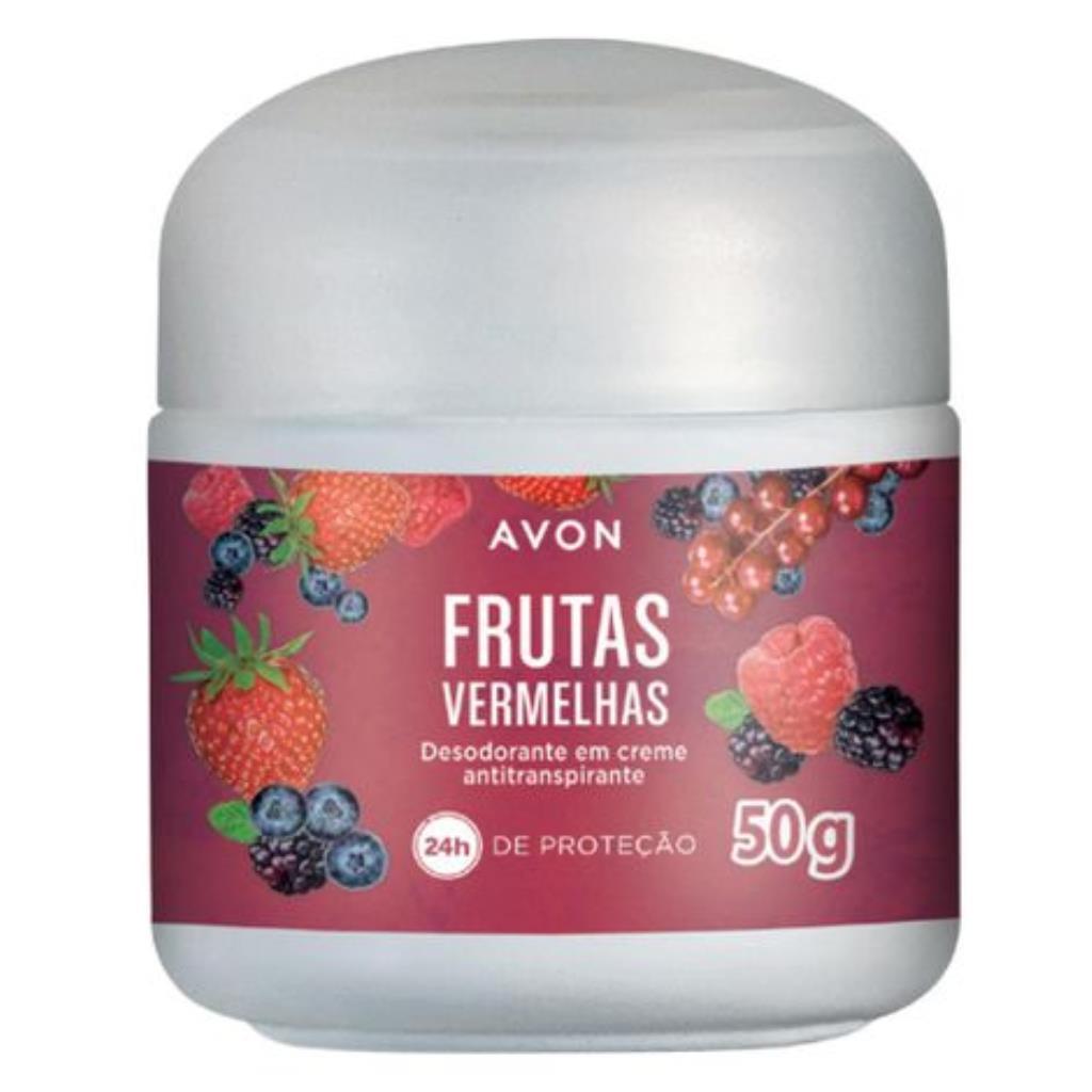 Desodorante Creme Avon Frutas Vermelhas 50g