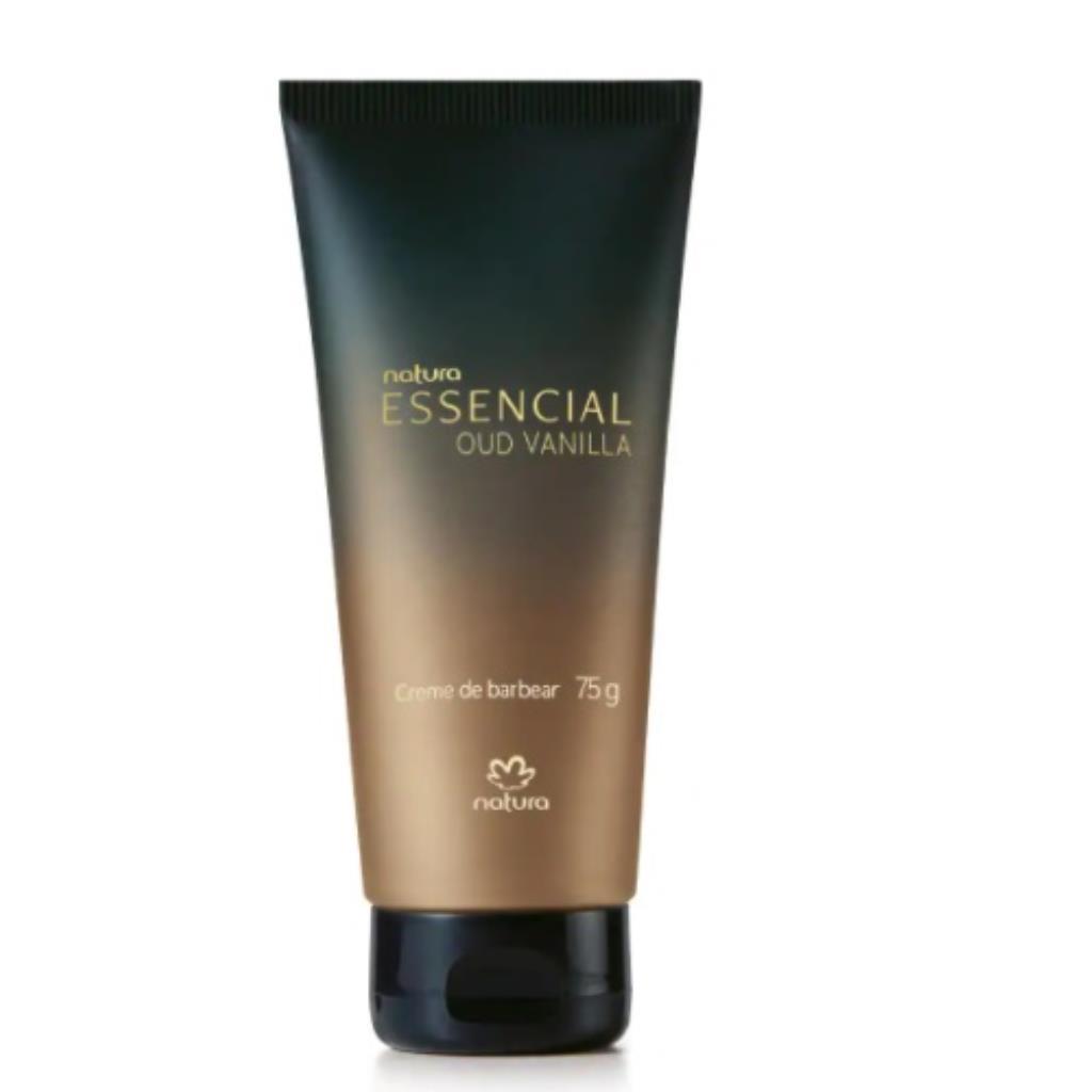 Creme de Barbear Essencial Oud Vanilla 75g