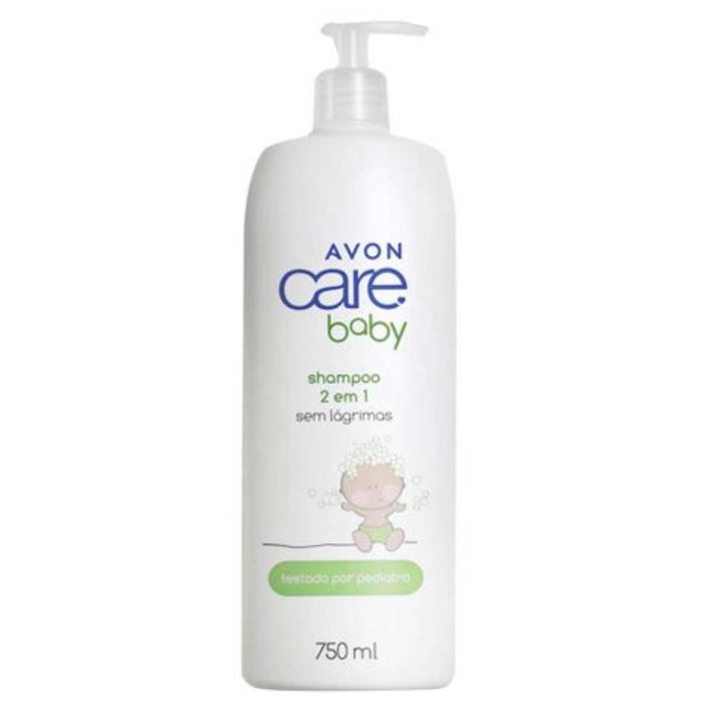 Shampoo 2 em 1 Avon Care Baby 750ml