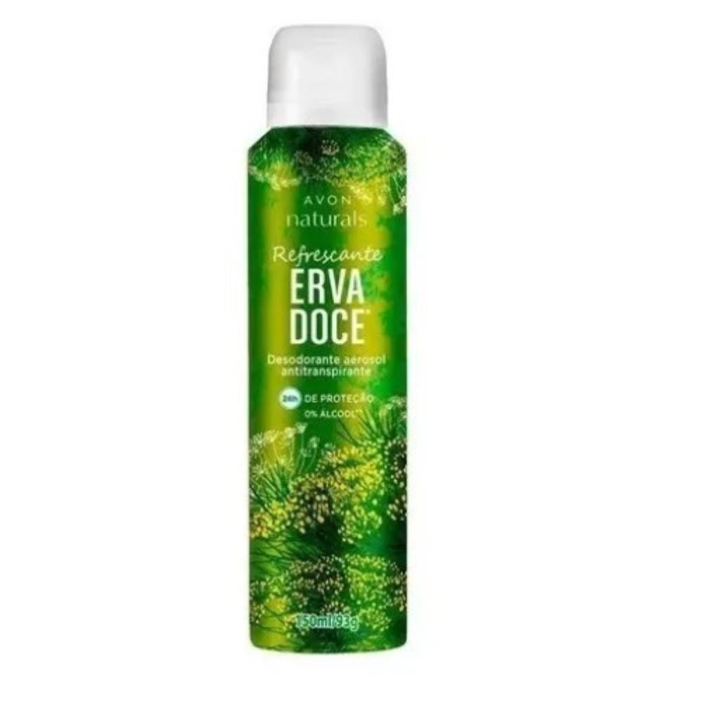 Avon Desodorante Aerossol Erva Doce 150ml