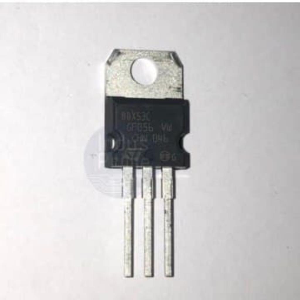 CI TRANSISTOR BDX53C - TO-220-3 DARLINGTON - ST MICROELETRONICS