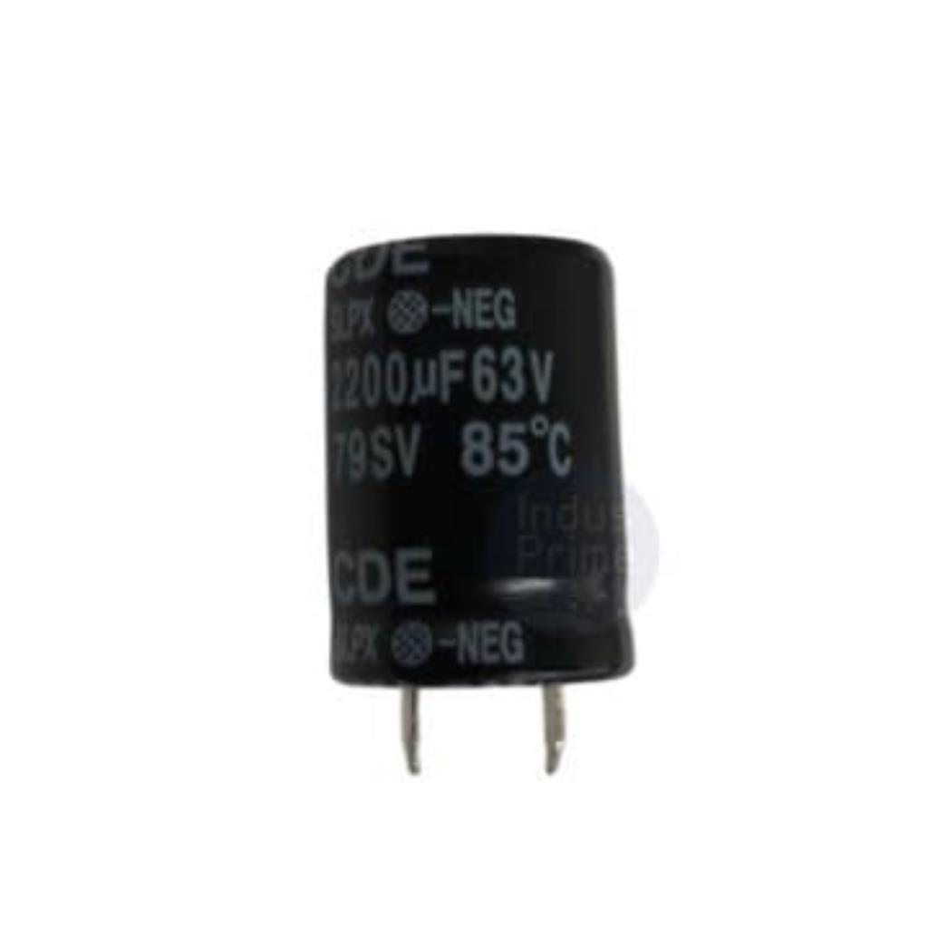 CAP ELET RADIAL - 2200UF 63V 22MMX30MM DE ALUMÍNIO - SLPX222M063A3P3 - CORNELL DUBILIER - A33-1
