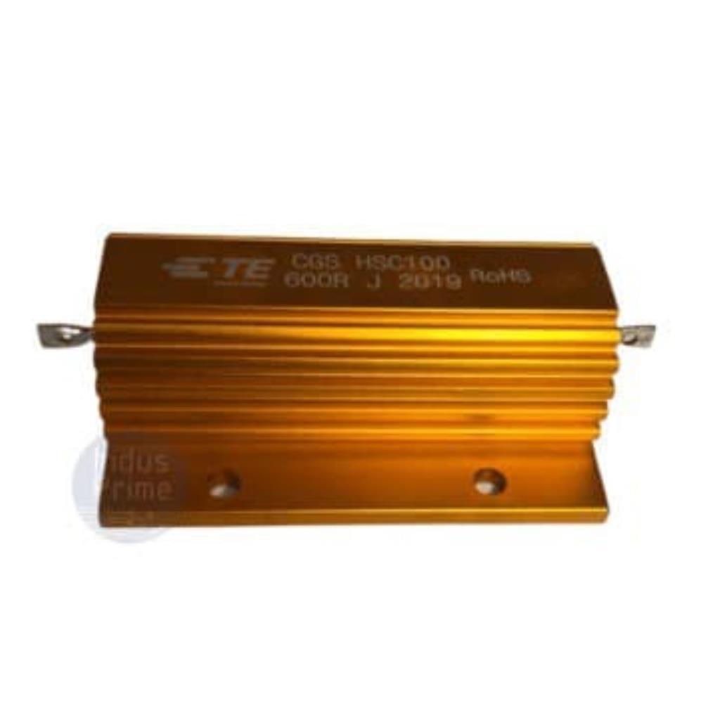RESISTOR DE FIO ENROLADO - MONTAGEM EM CHASSI HSC100 - CGS HSC100 600R J - 5% 100W 30PPM C 1.9kV - TE CONECTIVITY - C56-4