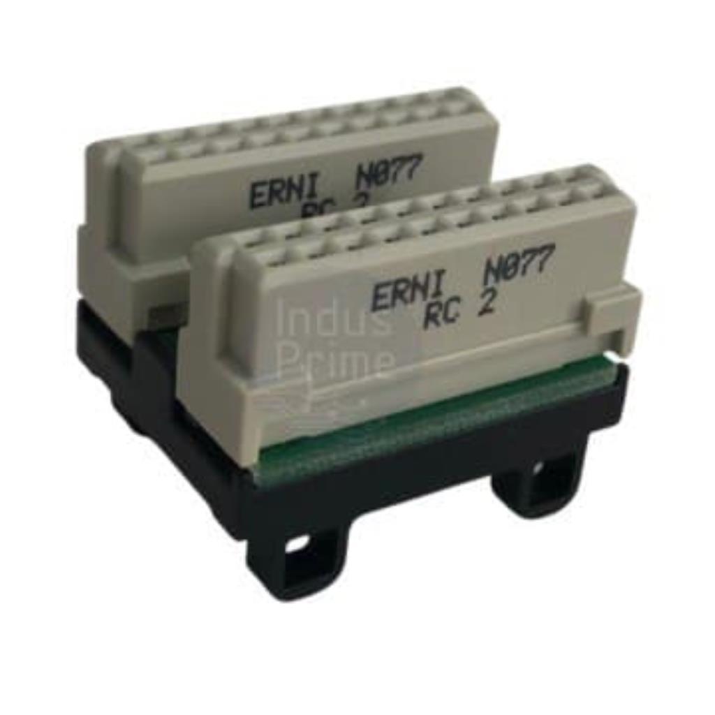 CONECTOR DE EXTENSÃO PNOZ MO3 - ERNI N077 RC 2 - PARA MODULO DE EXPANSÃO PILZ 95425 - PILZ B48-3