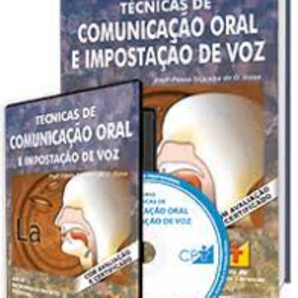 Técnicas de comunicação oral e impostação de voz - livro e dvd