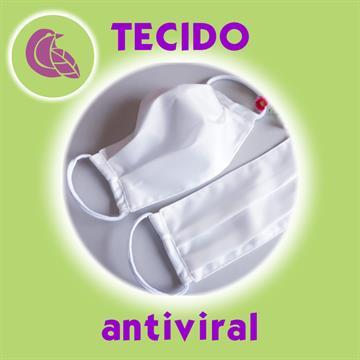 Máscara com tecido Antiviral Delfim Protect