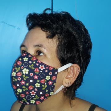 Máscara de Proteção (morangos)