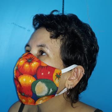 Máscara de Proteção (frutas)