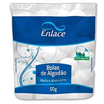 ALGODÃO EM BOLINHAS ENLACE