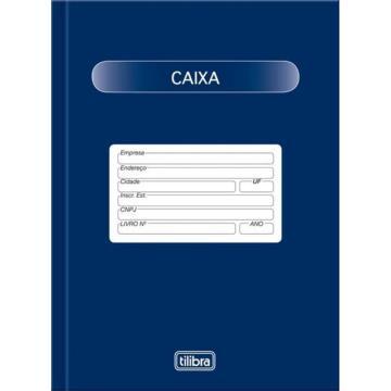 LIVRO CAIXA 1/4 100F TILIBRA