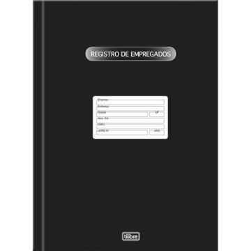 LIVRO DE REGISTRO DE EMPREGADO C/50FLS