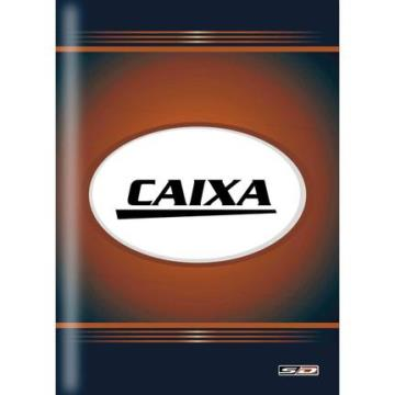 LIVRO DE CAIXA C/100FLS - SÃO DOMINGOS