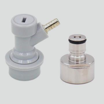 CARBONATOR GARRAFA PET COM CONECTOR BALL-LOCK