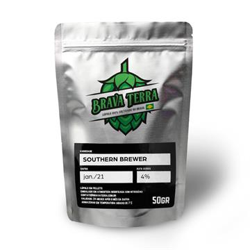 LUPULO SOUTHERN BREWER PELLET 4,0% A.A - SAFRA 2021 - 50G