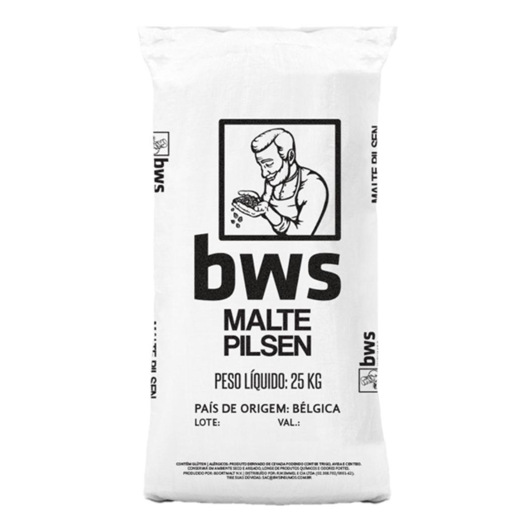 MALTE BWS PILSEN - SACA 25KG