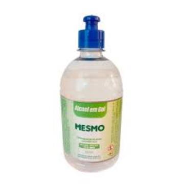 ALCOOL GEL ANTIS. PUSH & PULL MESMO 500 ML