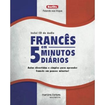 Francês Em 5 Minutos Diários + CD