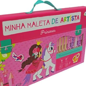 Minha maleta de artista - Princesas