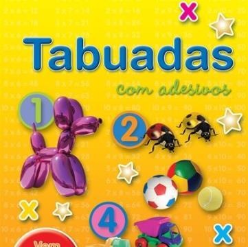 Tabuada com Adesivos (Girassol)