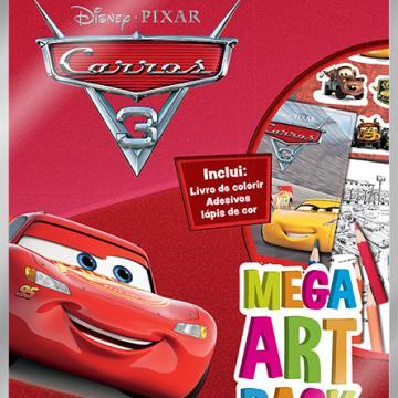 Mega Art Pack - Carros 3 (DCL-Disney)