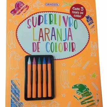 Super Livro Laranja de Colorir