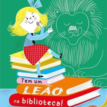 Tem um leão na biblioteca!