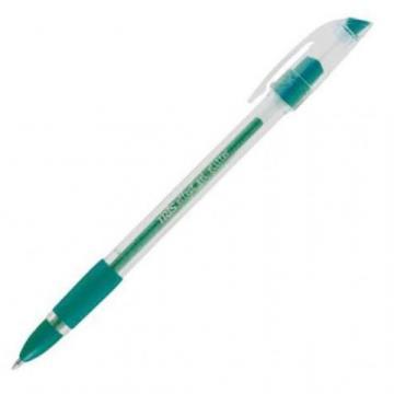Papelaria - Caneta esferográfica Tris Gel Effect Glitter: Verde
