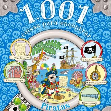 1001 coisas para encontrar: Piratas