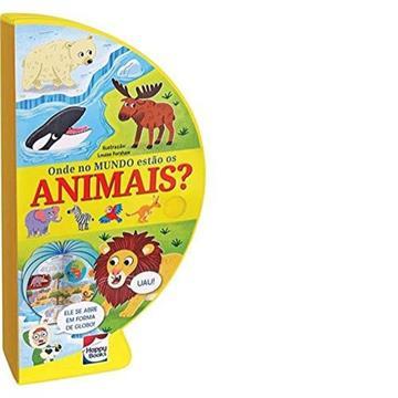Livro Globo: Onde no mundo estão os animais
