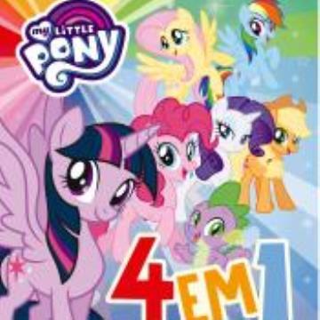 My Little Pony: Livro de diversão (Com 4 quebra cabeças)