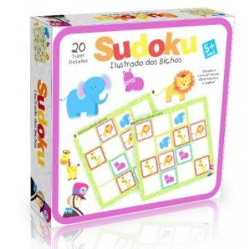 Sudoku ilustrado bichos gigante