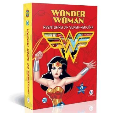 Mulher Maravilha - Aventuras da super-heroína (6 minilivros, quebra-cabeça)
