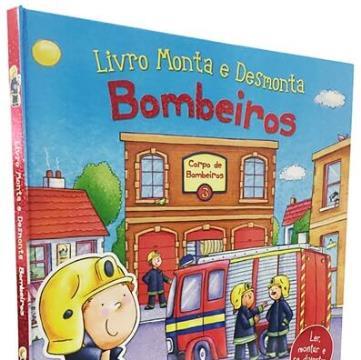 Livro Monta e Desmonta: Bombeiros
