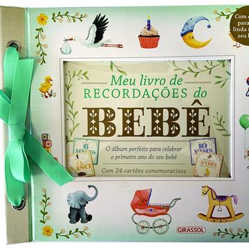 Meu livro de recordações do bebê
