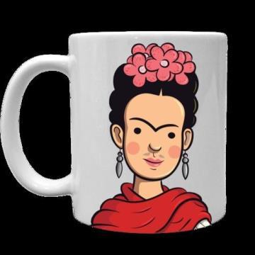 Caneca Frida Kahlo (Antiprincesas)