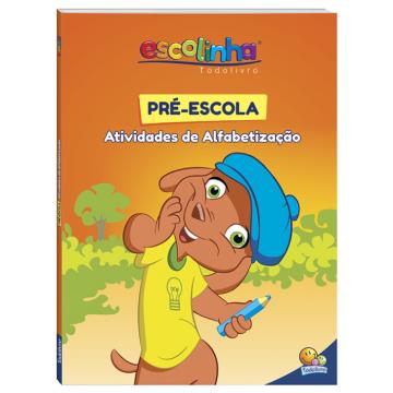 Pré-escola atividades de alfabetização