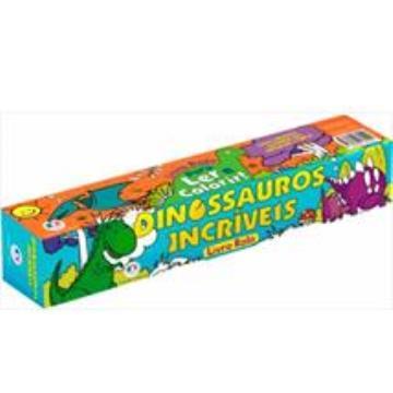 Dinossauros Incríveis (Livro rolo)