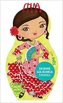 Desenhe sua boneca: Espanhola