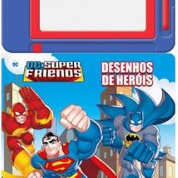 DC Super Friends: Desenhos de heróis (Com Lousa magnética)