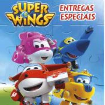 Super Wings: Entregas especiais (Com 4 quebra cabeças)