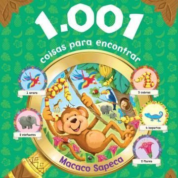 1001 coisas para encontrar: Macaco Sapeca